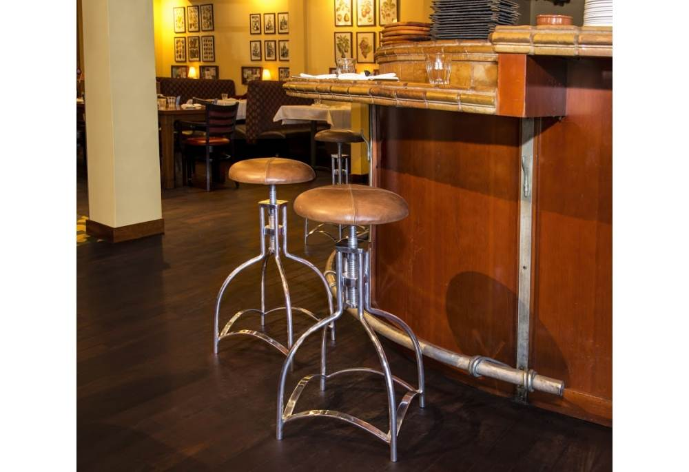 1920s Industrial Design Speakeasy Seat Barstool