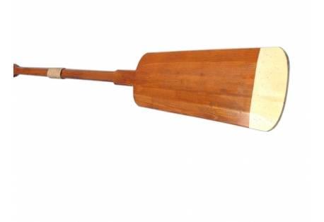 """Wooden Hamilton Squared Decorative Rowing Boat Oar w/ Hooks - 50"""""""