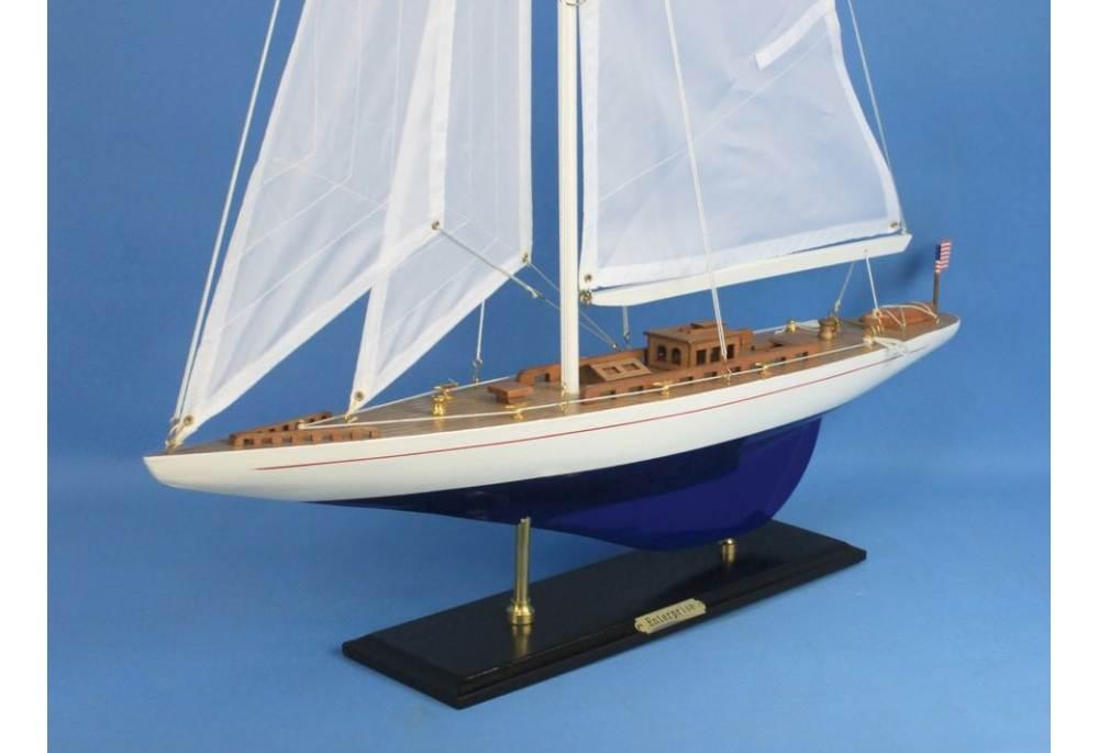 America's Cup Defender J Class Yacht Enterprise for Decoration