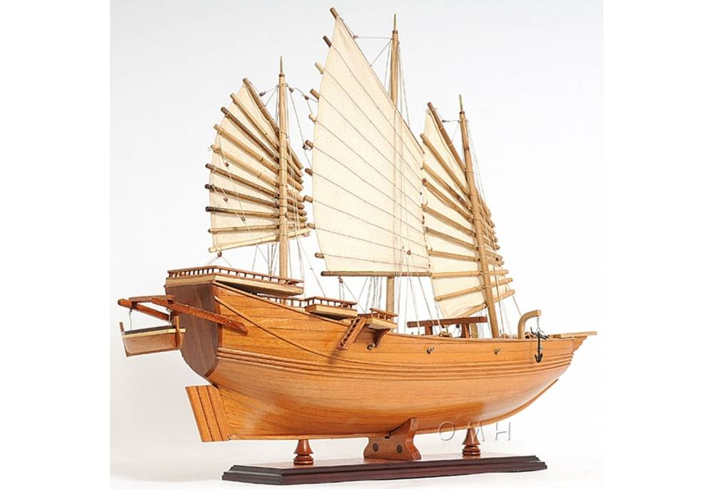 Chinese Junk Boat Wooden Boat Model