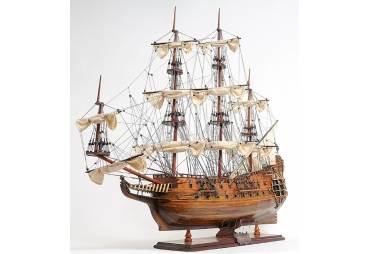 1650 HMS Fairfax Wooden Tall Ship Model
