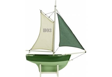 Green Sailer Wooden Model Ship HO3