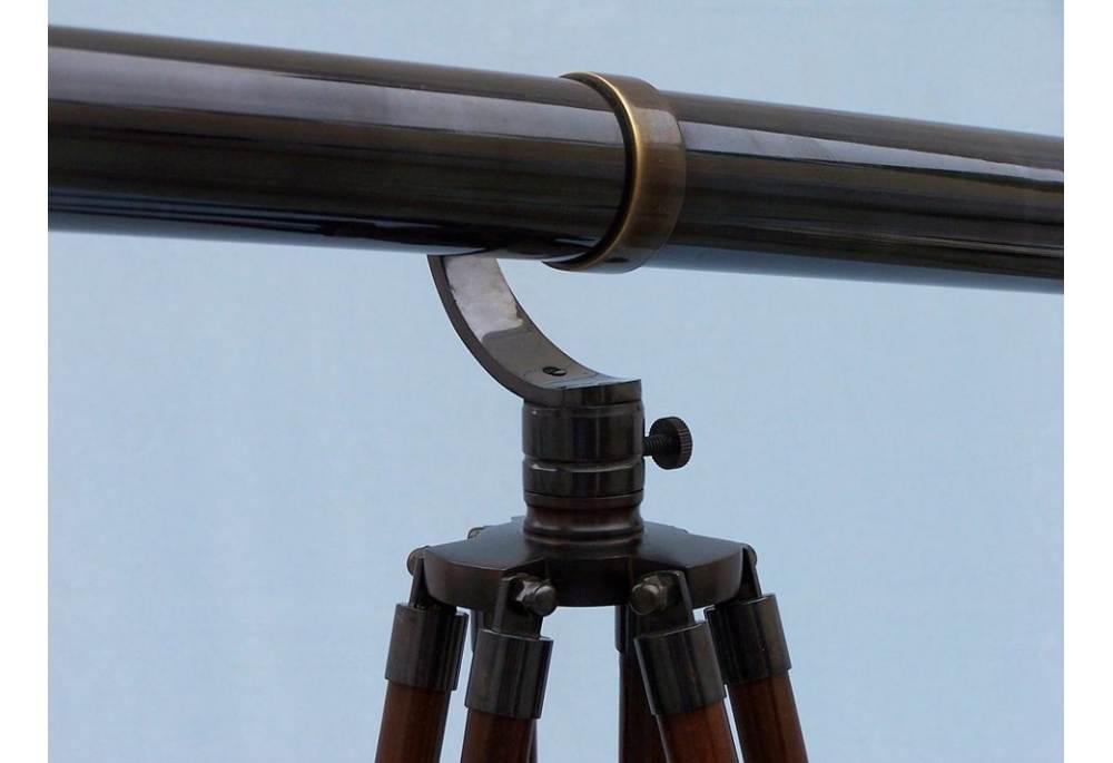 Floor Standing Oil Rubbed Bronze Galileo Telescope 65 Quot