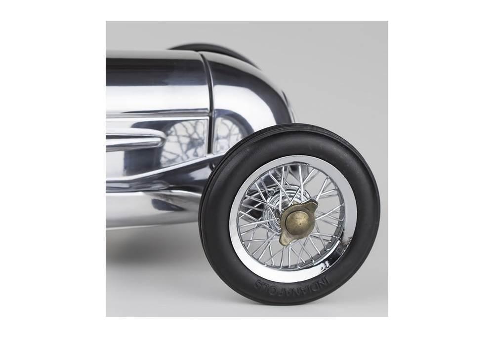 1934 Mercedes Benz Silver Arrow Car Model Exact Replica