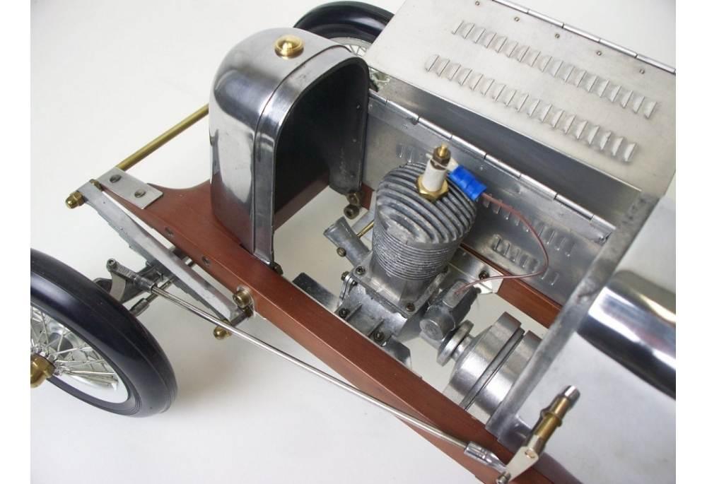 Model Car Bantam Midget Spin Dizzy Racer Large Racing Wood Metal Brillibrum Flyer