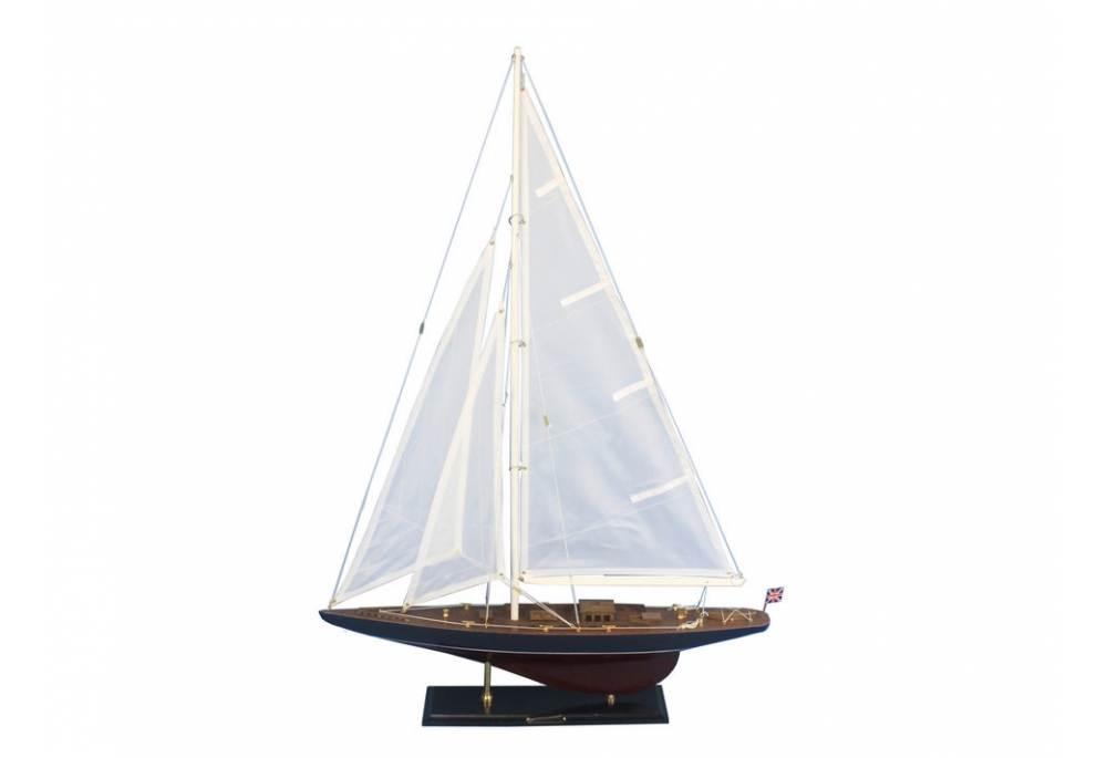 Decorative Endeavour Wooden Yacht Model