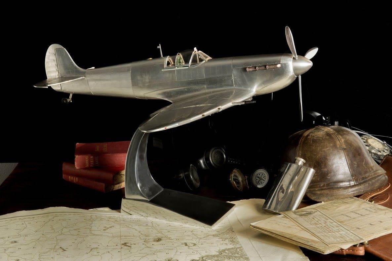 1936 spitfire fighter airplane model - Aviation Decor