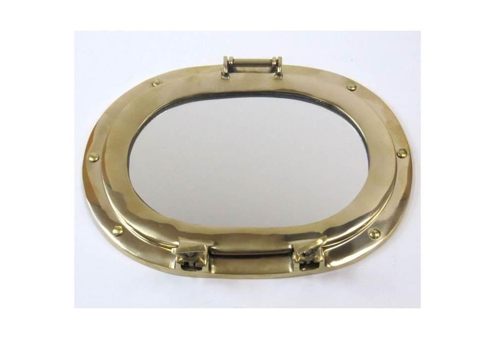 12 Quot Oval Porthole Mirror Decoration Nautical Wall Decor