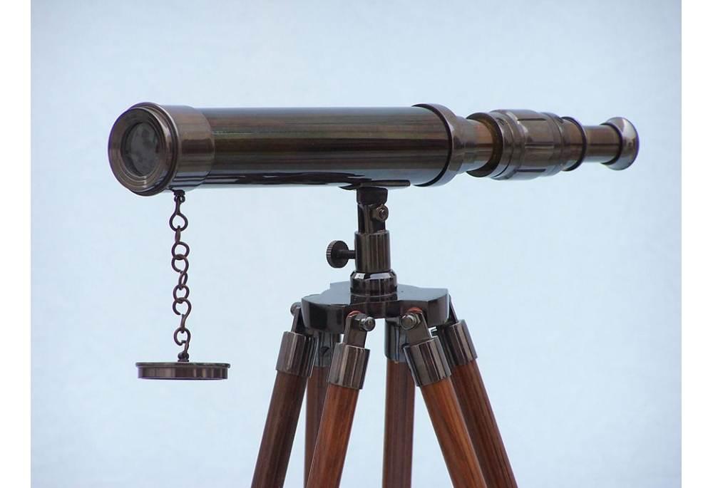 Bronze Harbor Master Telescope Fully Functional And Beautifully Simple Decorative Telescopes