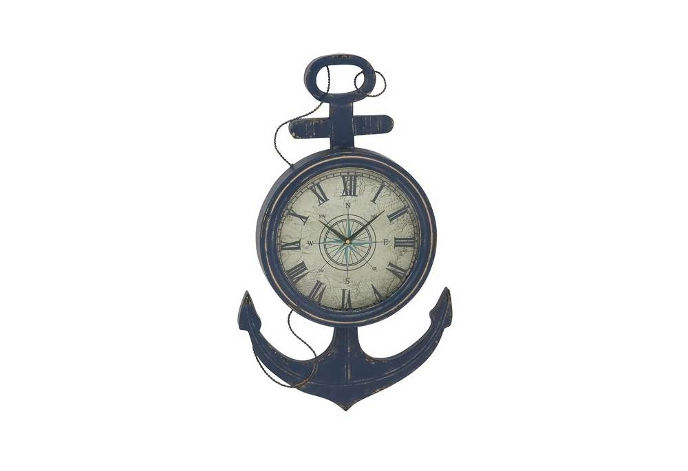 Supreme Metal Anchor Wall Clock