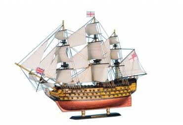 "HMS Victory Tall Ship Model 21"""