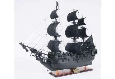 Caribbean Wooden Pirate Ship Model