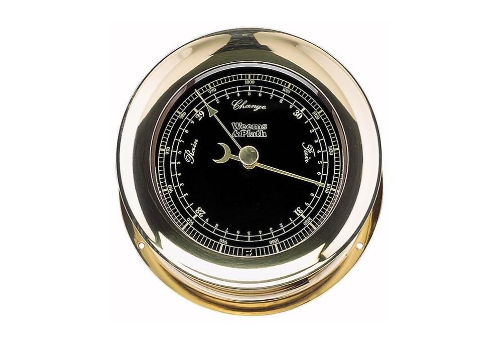 Atlantis Premiere Barometer With Black Dial