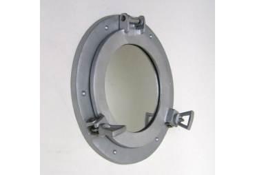 """Porthole Mirror, 9"""""""