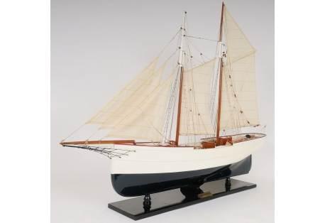 Wander Bird Wooden Pilot Schooner Model Ship