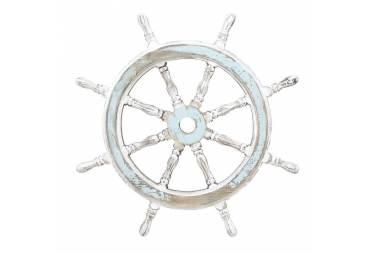 Nautical Decor Rustic Wooden Ship Wheel