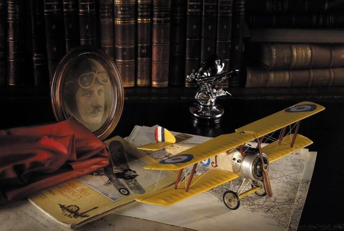 wwi sopwith camel biplane aircraft model aviation decor - Aviation Decor