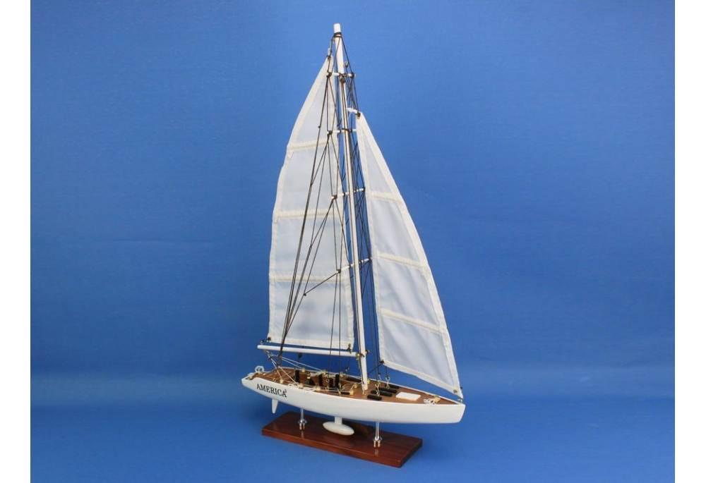 America S Cup America 179 23 Quot Decorative Sailboat Model