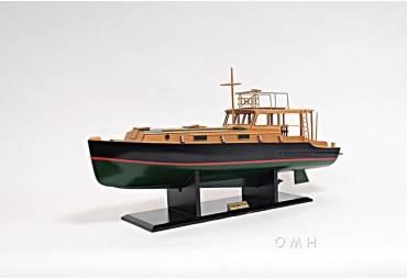 Ernest Hemingway's Pilar Wooden Fishing Boat Model