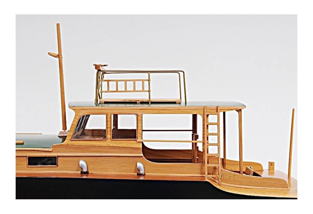 Ernest Hemingway S Pilar Wooden Fishing Boat Model