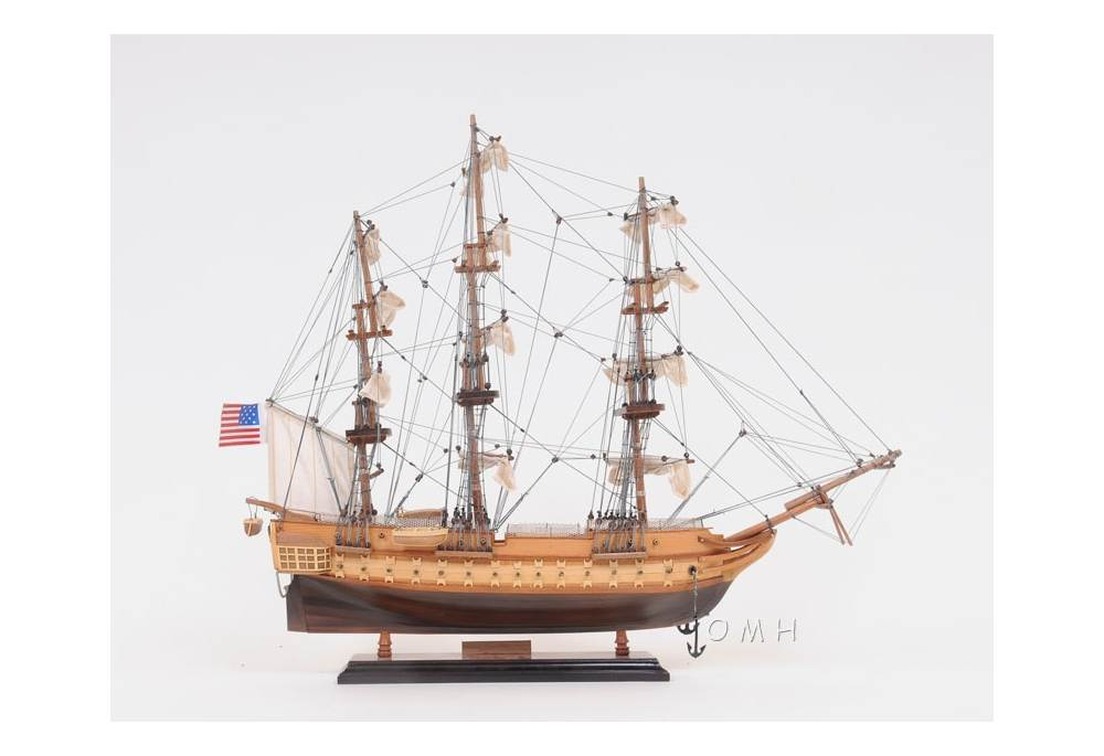 Uss Constitution Wooden Tall Ship Model