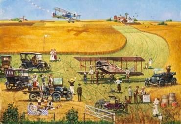 Barnstormers Aviation Poster