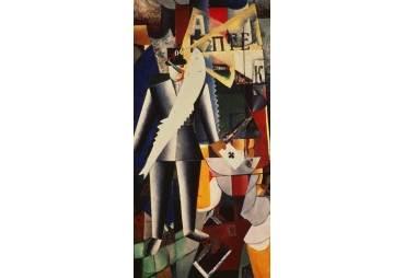 The Aviator, 1914 by Kazimir Malevich
