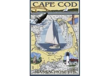 Cape Cod Massachusetts Sailboat