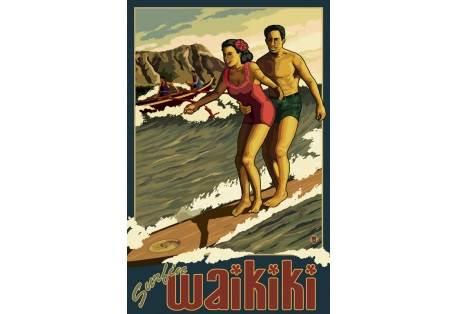 Waikiki Couple