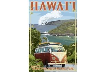 Hawaii Volcanoes Cruising