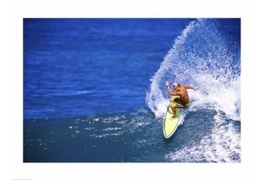 Surfing South Shore Maui Hawaii USA