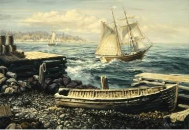 Coastal New England by Nicky Boehme