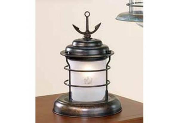 Nautical Lighting Caravela Earth Small Table Lamp