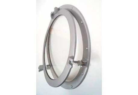 Aluminum Ship's Porthole Mirror Decoration