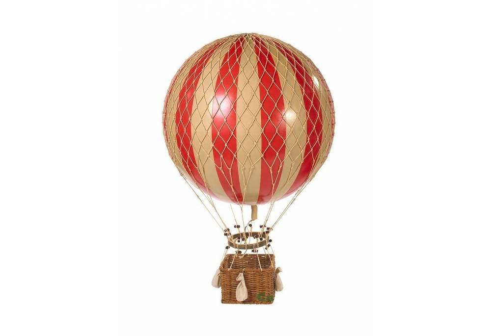 Jules Verne Red 17 Quot Hot Air Balloon Authentic Models