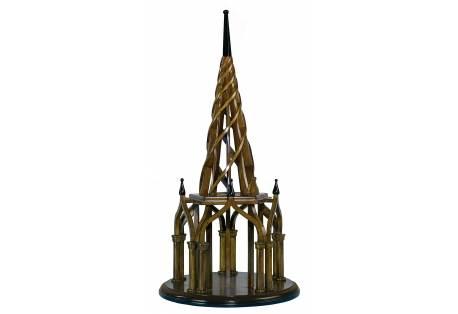 Nirvana Spire Wooden Model