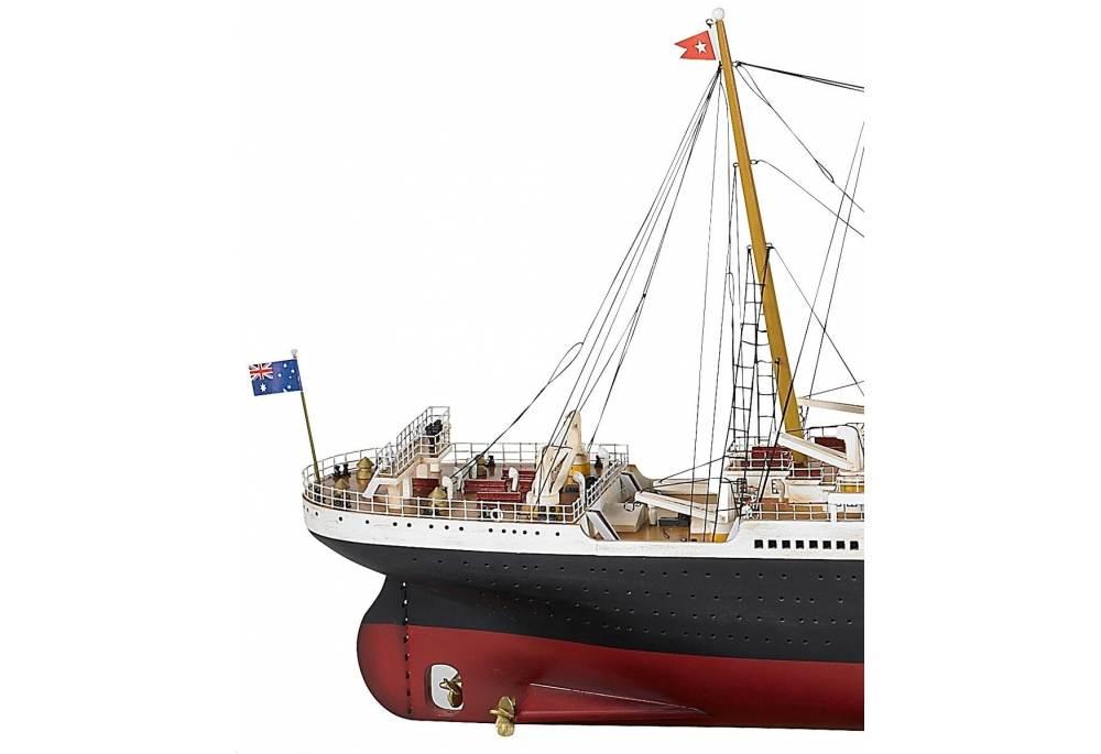 Ocean Liner Famous Titanic Wooden Ship Model