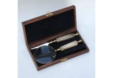 Magnifier and Leter Opener in Wooden Gift Box