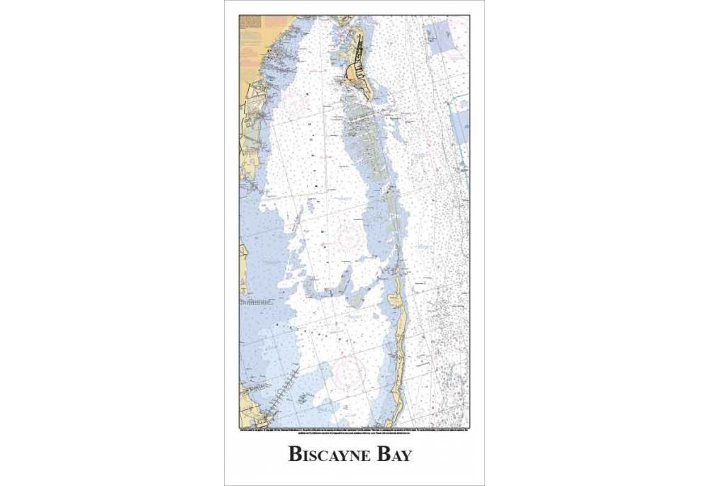 Biscayne Bay Florida Nautical Chart