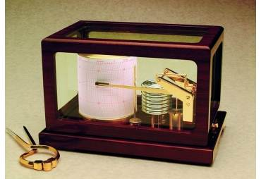 Dampened Deluxe Classic Quartz Barograph Made in Germany
