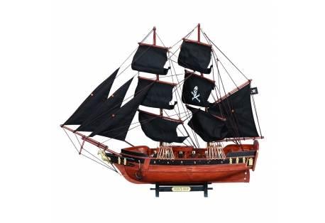 Wooden Pirate Ship Mlodel