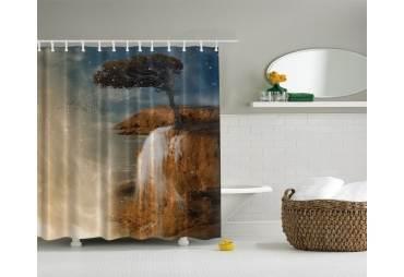 Ocean Cliff Shower Curtain