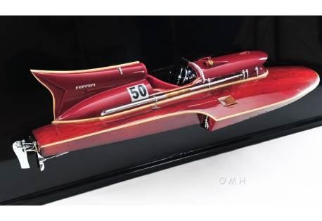 Ferrari Hydroplane Half Hull Model