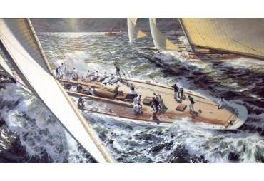 The Great Race: COLUMBIA vs. SHAMROCK II, 1901