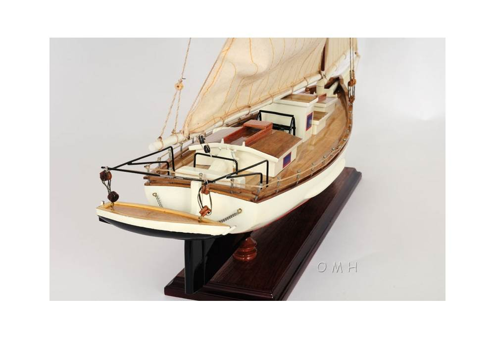 Skipjack Chesapeake Bay Wooden Sailboat Model Gonautical