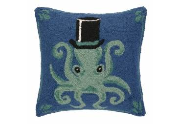 Octopus Hand Made Hook Wool Piliow
