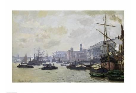 The Thames at London, 1871