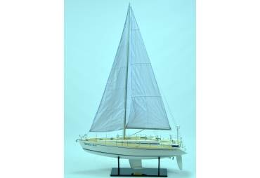 Nautor Swan 48 Handcrated Wooden Model Yacht
