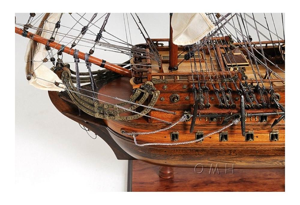 Wooden Tall Ship San Felipe Scaled Model