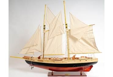 Schooner Bluenose II Hand Made Yacht Model